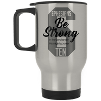 Be Strong (Ephesians 10) Mug-Apparel-Our Lord Style