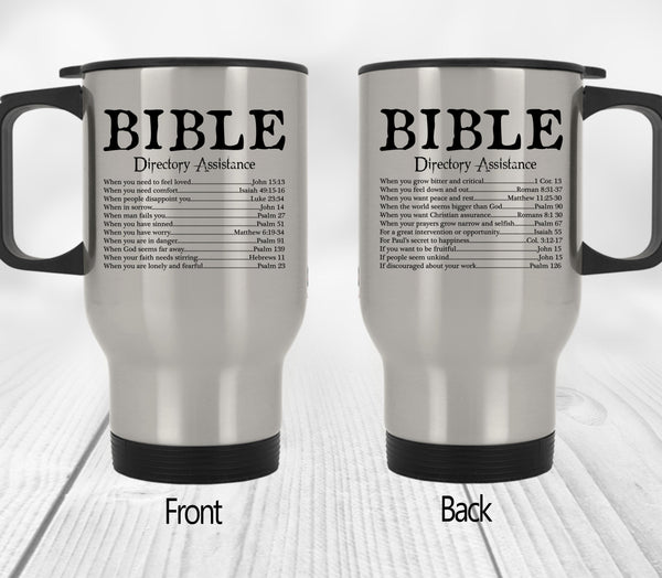 Bible Directory Assistance Mugs Cups Our Lord Style