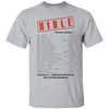 Bible Emergency Numbers-Apparel-Our Lord Style