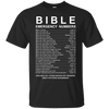 Bible Emergency Numbers (Front Design)-Apparel-Our Lord Style