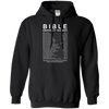 Bible Emergency Numbers Hoodies/Sweatshirts (Front Design)-Apparel-Our Lord Style