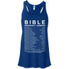 Bible Emergency Numbers (Ladies' Front Design)-Apparel-Our Lord Style