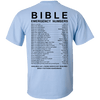 Bible Emergency Numbers (Light Back Design)-Apparel-Our Lord Style