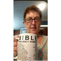 Bible Emergency Numbers Mug V2 **70% OFF TODAY**-Accessories-Our Lord Style