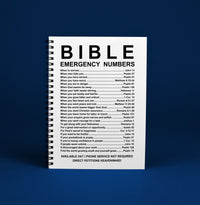 Bible Emergency Numbers Notebook-Accessories-Our Lord Style
