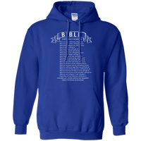 Bible Emergency Numbers Pullover Hoodie-Apparel-Our Lord Style