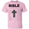 Bible Searching The Scriptures Cotton Shirt-Apparel-Our Lord Style