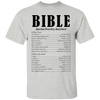 Bible Spiritual Directory Assistance Cotton Shirt-Apparel-Our Lord Style
