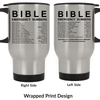 Black Bible Emergency Numbers Mug V2 ✞60% OFF TODAY✞-Apparel-Our Lord Style