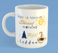 Blessed Morning Mug-Accessories-Our Lord Style