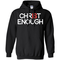 Christ Is Enough Pullover Hoodie-Apparel-Our Lord Style