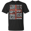 Cross Of Words (1 John 4:9-10) Cotton Shirt-Apparel-Our Lord Style