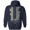 Ephesians 1:7 Hoodies/Sweatshirts (Back Design)-Apparel-Our Lord Style