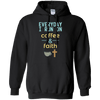 Everyday I Run On Coffee & Faith Pullover Hoodie-Apparel-Our Lord Style