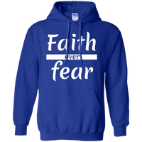 Faith Over Fear Pullover Hoodie-Apparel-Our Lord Style