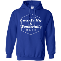 Fearfully & Wonderfully Made Pullover Hoodie-Sweatshirts-Our Lord Style