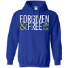 Forgiven And Free (John 8:36)-Apparel-Our Lord Style