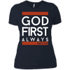 God First Always (Matt 6:33) Women's Shirt-Apparel-Our Lord Style