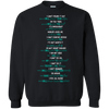 God Says V2 - Full Text With All Verses Pullover Sweatshirt-Apparel-Our Lord Style