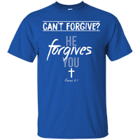 He Forgives You! (Romans 8:1)-Apparel-Our Lord Style