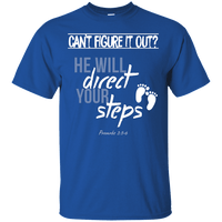 He Will Direct Your Steps (Proverbs 3:5-6)-Apparel-Our Lord Style