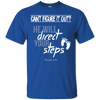He Will Direct Your Steps (Proverbs 3:5-6) Cotton Shirt-Apparel-Our Lord Style