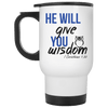 He Will Give You Wisdom (1 Corinthians 1:30)-Apparel-Our Lord Style