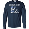 He Will Give You Wisdom (I Corinthians 1:30)-Apparel-Our Lord Style