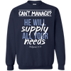 He Will Supply All Your Needs (Philippians 4:19)-Apparel-Our Lord Style