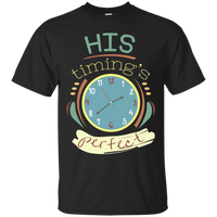 His Timing's Perfect Cotton Shirt-Apparel-Our Lord Style
