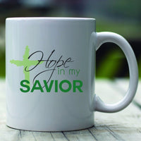 Hope In My Savior Mug-Apparel-Our Lord Style