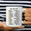 How Are You Bible Verses Mug-Apparel-Our Lord Style