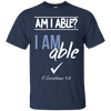 I Am Able (II Corinthians 9:8) Cotton Shirt-Apparel-Our Lord Style