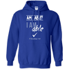 I Am Able (II Corinthians 9:8) Pullover Hoodie-Apparel-Our Lord Style