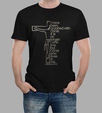 I Have Been Crucified With Christ (Galatians 2:20)-Apparel-Our Lord Style