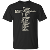 I Have Been Crucified With Christ (Galatians 2:20) Cotton Shirt-Apparel-Our Lord Style
