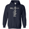 I Have Been Crucified With Christ (Galatians 2:20) Pullover Hoodie-Apparel-Our Lord Style