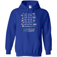 I Will Pray EVERYWHERE Pullover Hoodie-Apparel-Our Lord Style