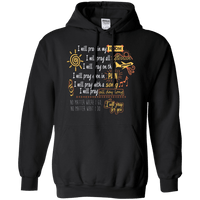 I Will Pray For You! Pullover Hoodie-Apparel-Our Lord Style