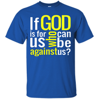 If God Is For Us Cotton Shirt-Apparel-Our Lord Style