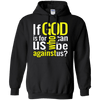 If God Is For Us Pullover Hoodie-Apparel-Our Lord Style
