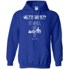 It Will Be Worth It (Romans 8:28) Pullover Hoodie-Apparel-Our Lord Style