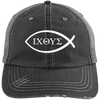 IXOYE - Christ, Son of, God, Savior (Iesous Xristos Theou Yios Sotare) Caps-Apparel-Our Lord Style