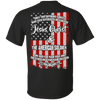 Jesus Christ And The American Soldier (Back Design)-Apparel-Our Lord Style