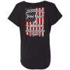 Jesus Christ And The American Soldier (Ladies' Back Design)-Apparel-Our Lord Style