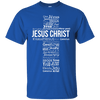 Jesus Christ In Different Languages Cotton Shirt-Apparel-Our Lord Style