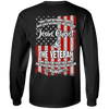 Jesus Christ & The Veteran (Back Design)-Apparel-Our Lord Style