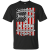 Jesus Christ & The Veteran (Front Design)-Apparel-Our Lord Style