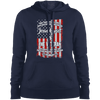 Jesus Christ & The Veteran Hoodies/Sweatshirts (Front Design)-Apparel-Our Lord Style