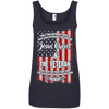 Jesus Christ & The Veteran Tank Tops (Front Design)-Apparel-Our Lord Style
